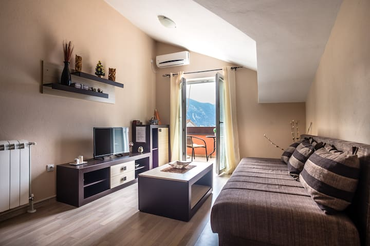 Comfortable 1BR Apartment w/sea view, parking