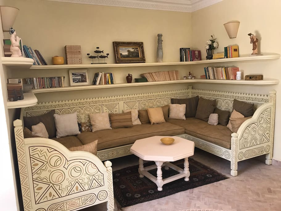 """Your """"Salon Marocain"""": an ideal place to take a rest"""