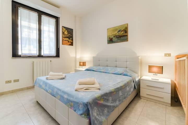 Antonella and Marcello's apartment