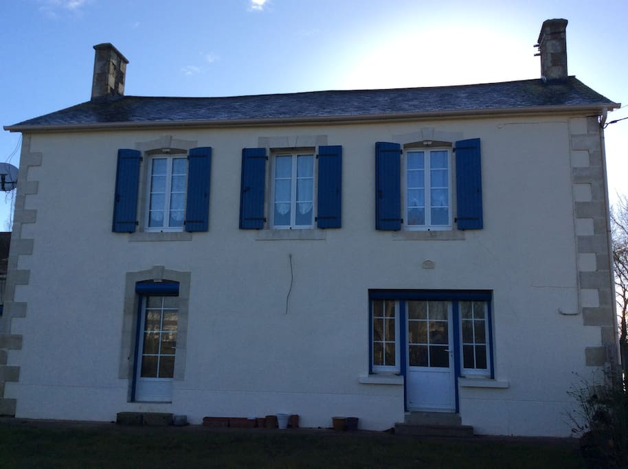 Recently renovated classic French farmhouse