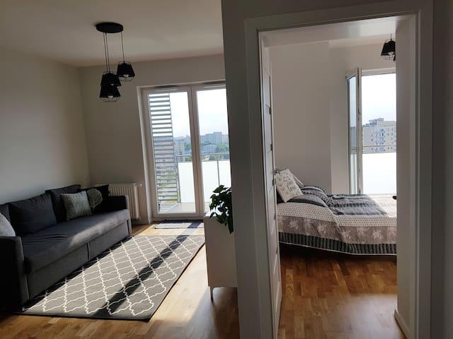 Apartament 59 na 12 piętrze