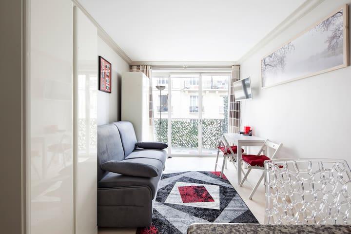 ❤️  Cosy Parisian studio, perfect for a couple❤️