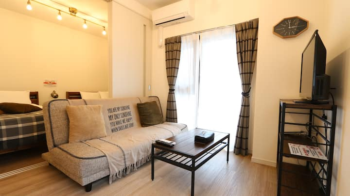 【Legatio博多ホテル  Deluxe Room5C】中洲とキャナルシティ博多に近い好立地!