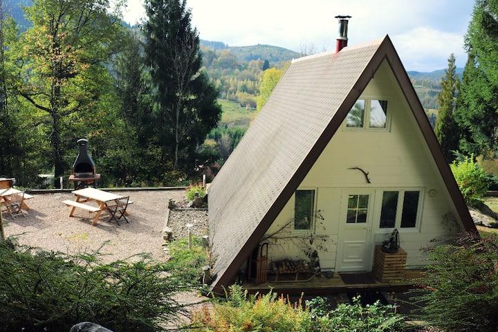 Chalet atypique au coeur des Hautes Vosges