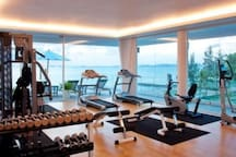 Gym on 2F of Clubhouse