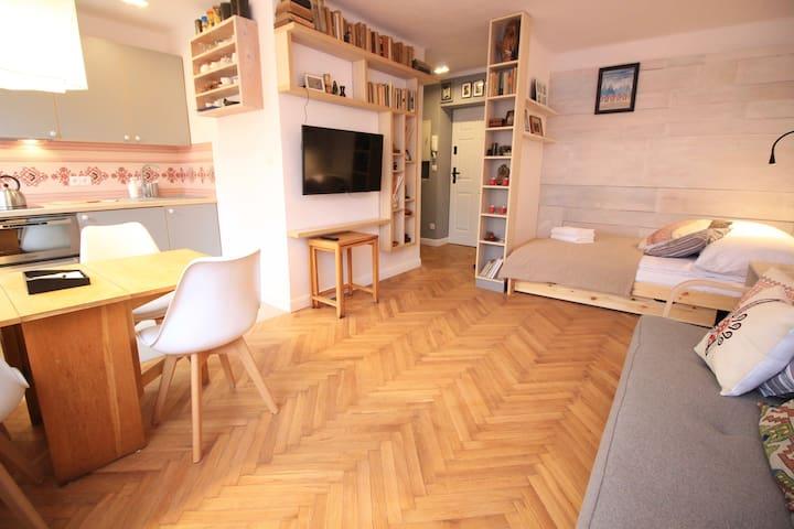 Comfortable studio in the centre of Zakopane