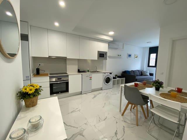 Luxury Apartment in Terrassa 1.3 MARGARITA