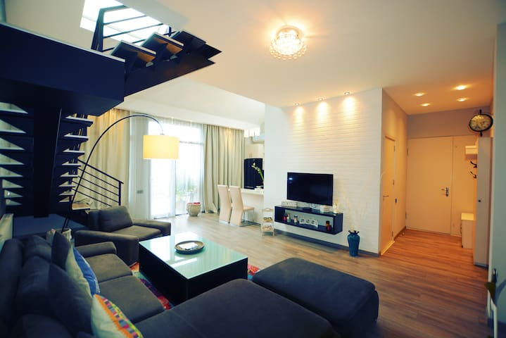 Luxury apartment #1 in the city center of Tbilisi.