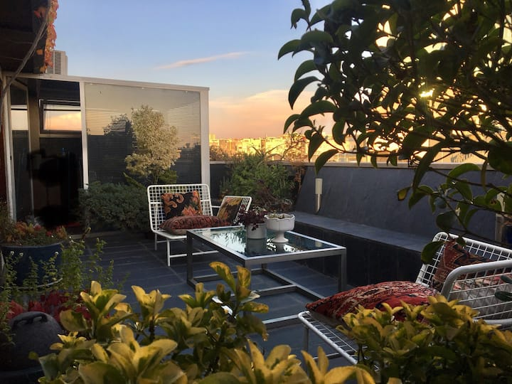 Art Style Apartment & Rooftop Garden