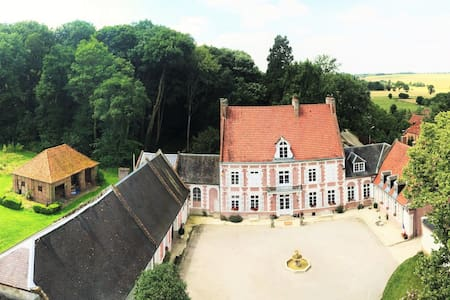 Chambre d'hôtes, Manoir de Bellacordelle, Arras - Rivière - Andere