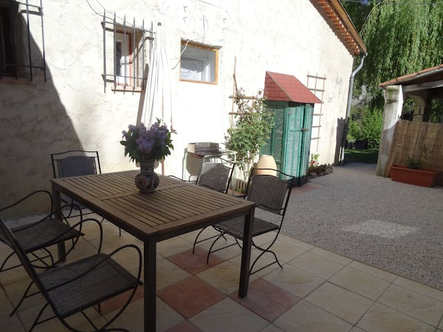 Le Paillon : appartment in Provence - Val-de-Chalvagne - Apartemen