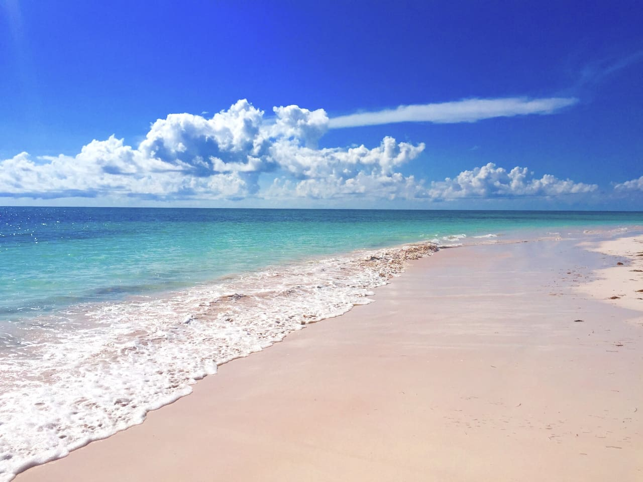 One of the worlds most beautiful beaches right in your back garden! The powder fine pink sand is stunning!