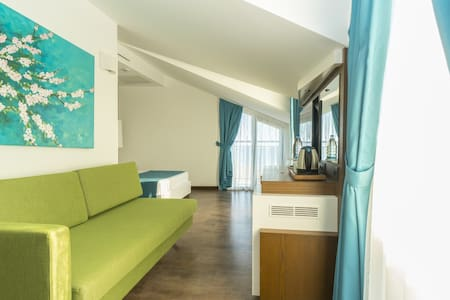 Superior Room (Sea View) - Acroter Hotel and SPA