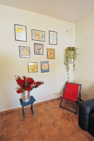 Detalhe da sala de estar.