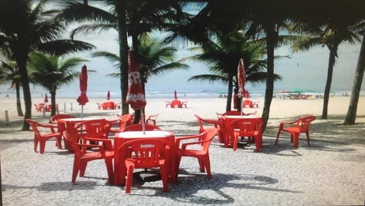 Apartamento de frente pra Praia pra temporada