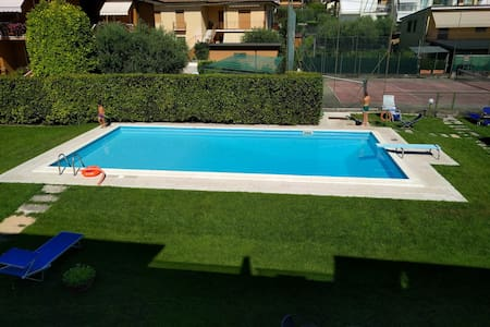 New Apartment + Pool + Tennis (50m from the lake) - Bardolino
