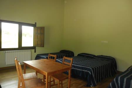 Habitación para familia con derecho a cocina - Ilzarbe