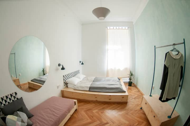 Standard double room with sofa bed #2