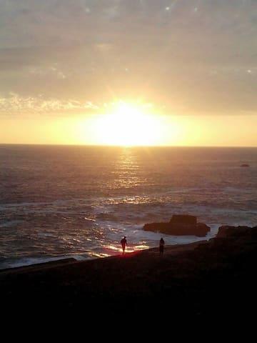 Cabaña hermosa vista al mar - Los Molles - Cabana