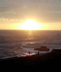Cabaña hermosa vista al mar - Los Molles