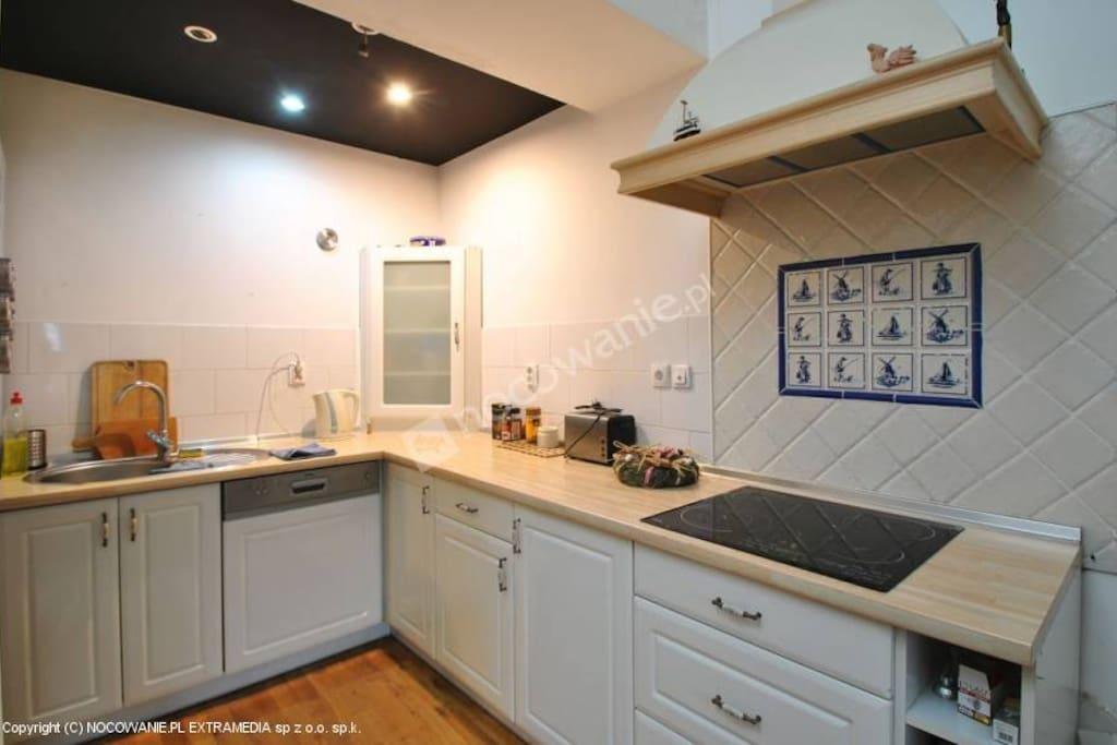 apartament Litteris Kuchnia