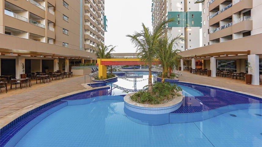 Apartamento Olímpia Park Resort em frente Thermas