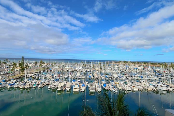 Ilikai Marina 1 bed Beautiful Ocean Views - IM888