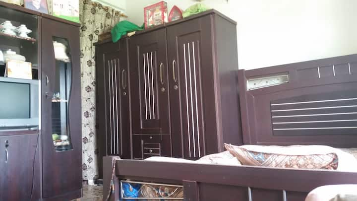 Flat is near Airport and nice location .PIA colony