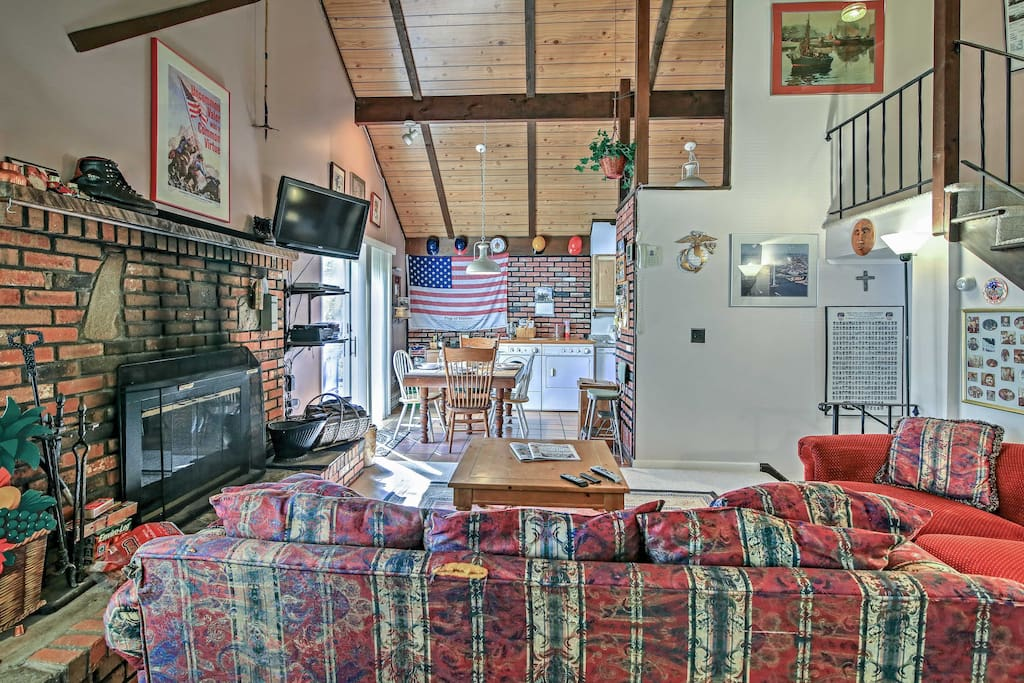 Inside, you'll find over 1,000 square feet of comfortable living space.