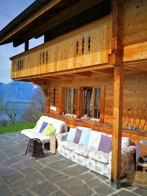 """""""Amazing bed and breakfast in the Swiss alps with the most spectacular view!"""" Oct 2015 Andy from USA"""
