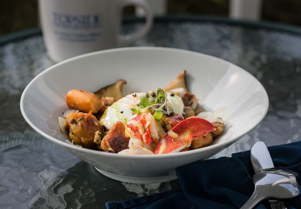 Creative locally sourced breakfasts