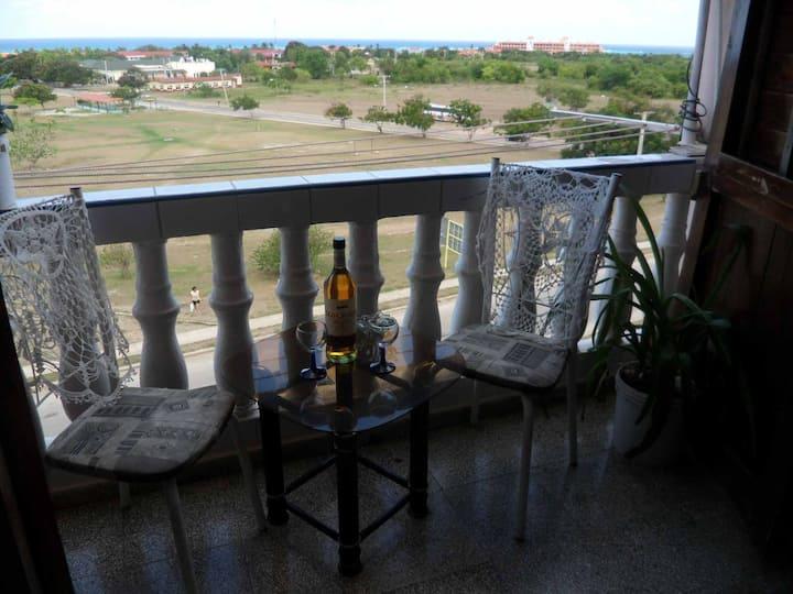 Apartamento con vista al mar en Guardalavaca