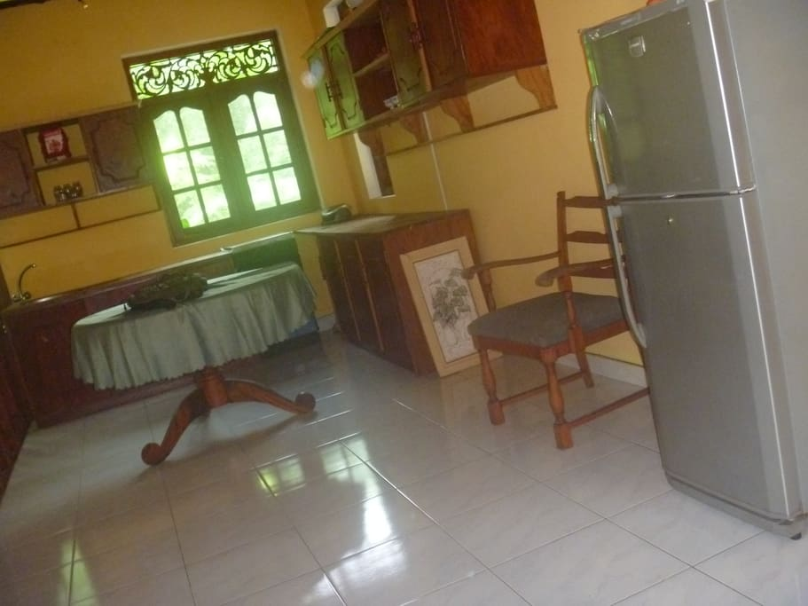 kitchen or living roomin upstairs