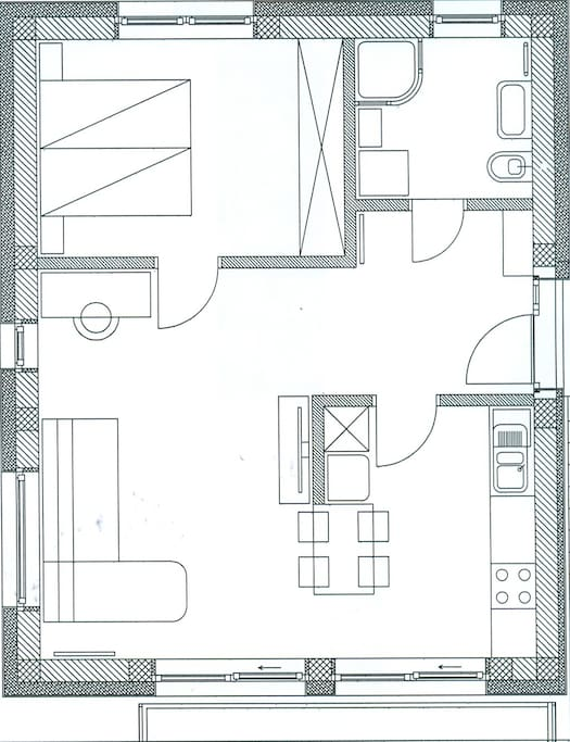 Layout of the apt