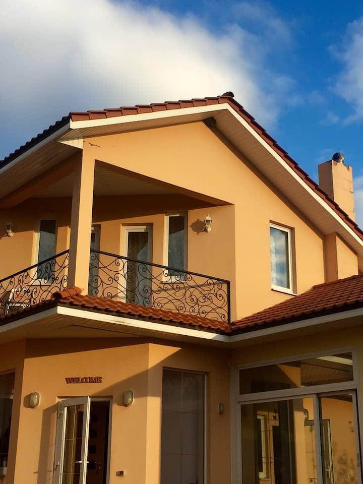 Уютный дом в Тарусе ждет  своих гостей