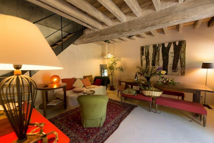 """La Richardiere Gite """"le bois""""  avec un atelier."""