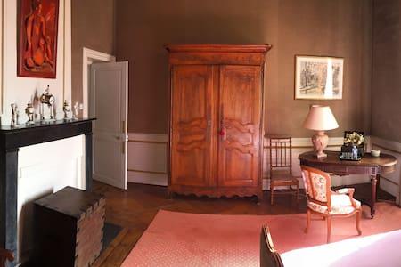 Chambre Parc au Château d'Asnière-Omaha Beach - Asnières-en-Bessin - Chambres d'hôtes