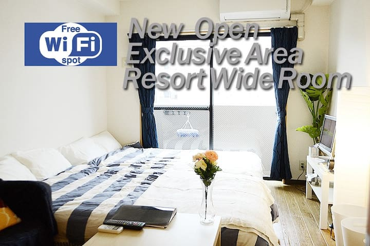 VestLocation★ExclusiveArea★ResortWideRoom★Near三条祇園 - Higashiyama Ward, Kyoto - Lejlighed