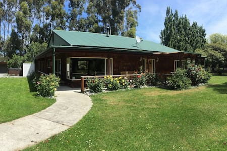 Te Waihora Lodge, Lake Ellesmere, Christchurch - Leeston - Hus