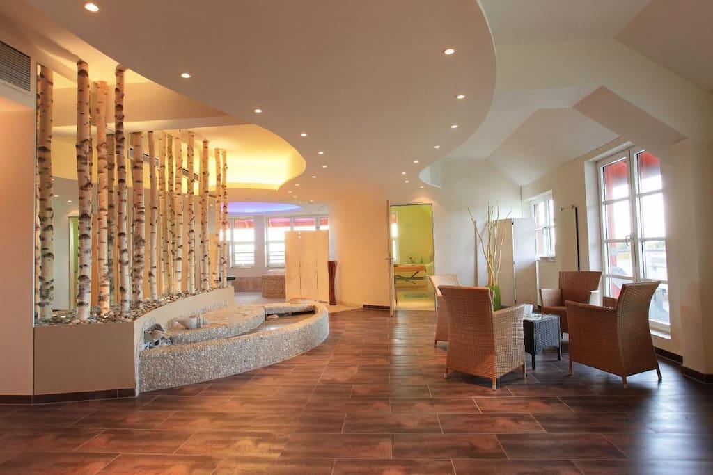 Wellnessbereich des Resorts