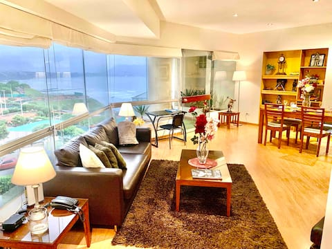 Ocean View Miraflores -Private Apartment Suite
