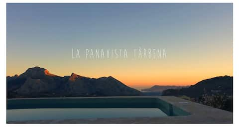 La Panavista Tàrbena - House with panoramic view