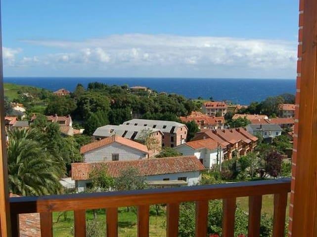 Casa adosada con vistas al mar - Pechón - Rumah