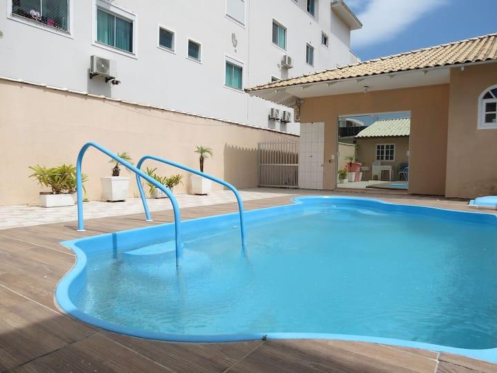 Casa para 10 pessoas com piscina a 600 mts. do mar - TN01F
