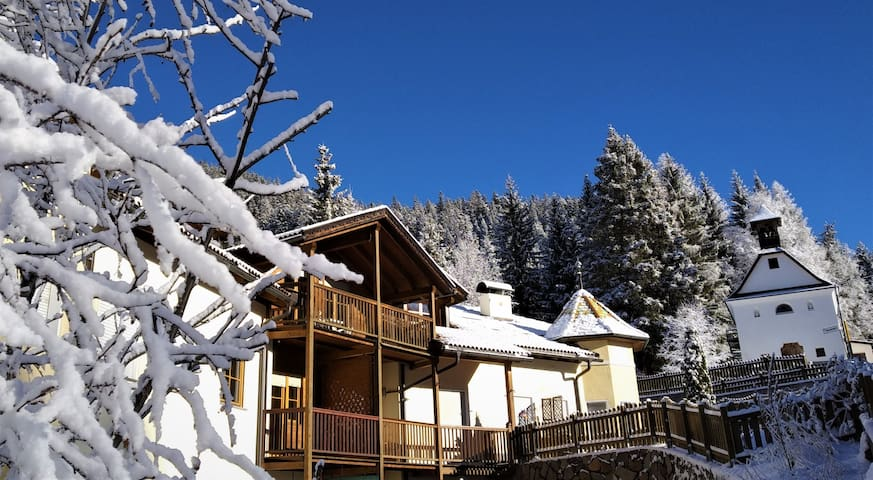 Mansarda soleggiata ad Obereggen (BZ)