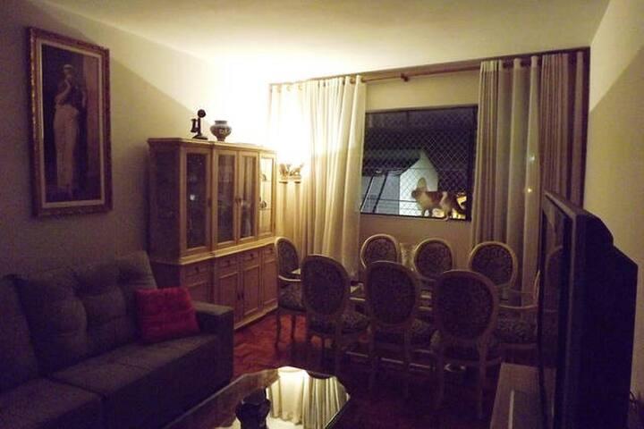Large apartment in the best city nearest at SP-8mi - São Caetano do Sul - Departamento