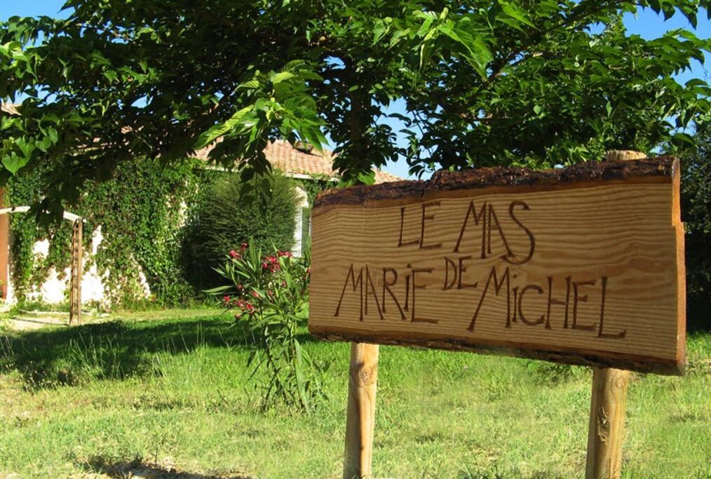 Bienvenue chez Marie et Michel !
