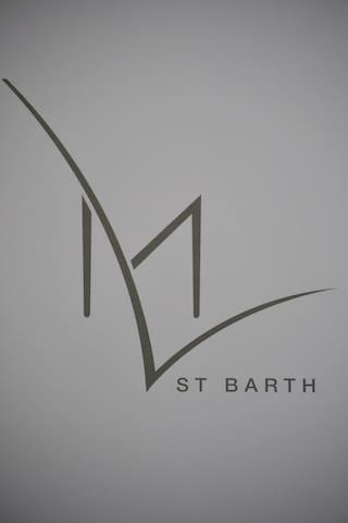 Appartement ML St Barth  Design,Lumineux ,Spacieux