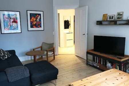 Charming apartment in the heart of Vesterbro - Kopenhagen