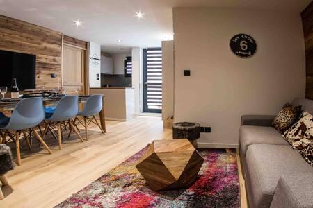 NEW la plagne 2100M appartement standing 6/8pers